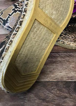 Модные эспадрильи asos с анималистическим принтом    sh2508    asos3 фото