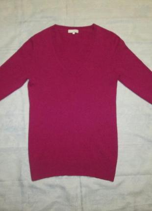 Кашемировая удлиненная кофта donna lane свитер 100% кашемир
