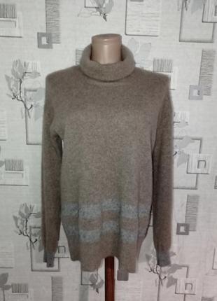 Кашемировый свитер водолазка гольф paul costelloe