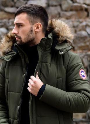 Курточка canada goose, курточка зимняя, курточка мужская, курточка