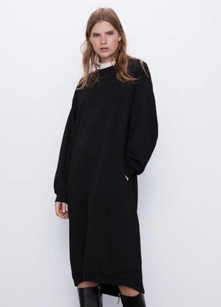 Платье zara m-l колекция осень 2020