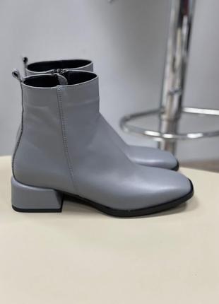 Lux обувь! ботинки женские деми зима кожа замш