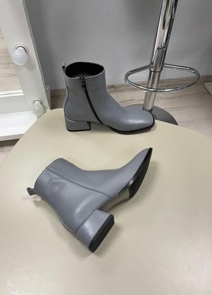 Lux обувь! ботинки женские деми зима кожа замш5 фото