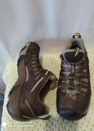 Кожаные водонепроницаемые ботинки кроссовки keen dru