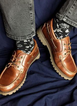 Чоловічі топсайдери blue harbour макасіни, туфлі