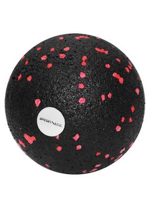 Массажный набор sportvida ball 08, duoball 08 и foam roller 30 skl41-277781