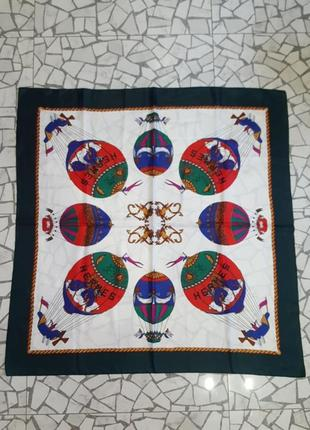 Шёлковый платок hermes