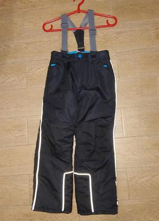 Штаны/ термо / лыжные 128р. 80см topolino