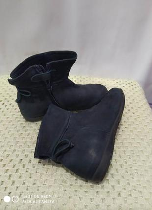 Кожаные ботинки unisa