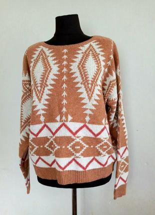 Женский красивый свитер оверсайз