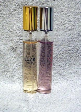 Набор парфюмированных вод avon по 10 мл: always и luck