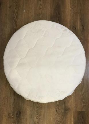 Круглый кокосовый матрас