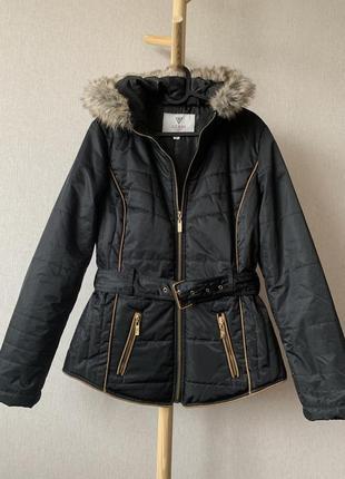 Куртка/пуховик з капюшоном guess оригінал