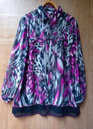 Блуза на пышные формы