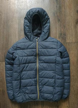 Куртка стеганная, дутая курточка, тёплая8-9 лет