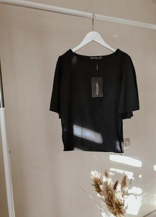 Чёрная блузочка