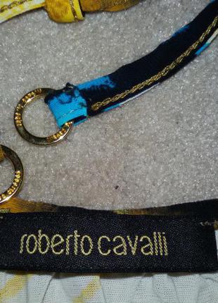 Roberto cavalli эксклюзивный топ с красивой спиной, р.м