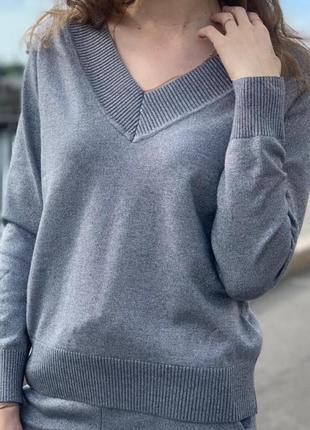 Фирменный джемпер dorothy perkins  с v- образным вырезом.  пуловер. свитер. свитшот