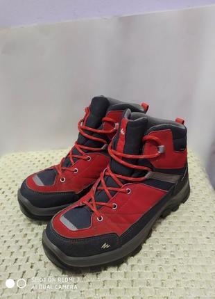 Водонепроницаемые ботинки quechua novadry