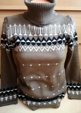🖤стильный свитер-гольф🖤