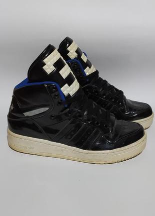 Adidas оригинал высокие кеды зима размер 41