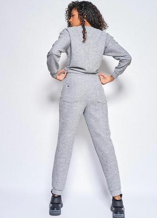 Теплый женский костюм с люрексом2 фото