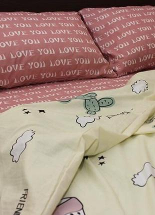 Комплект постельного белья, все размеры, ранфорс