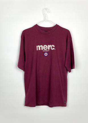 Футболка merc london t-shirt 'brighton'