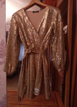 Новогоднее новое платье