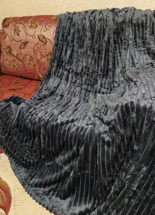 Велюровое покрывало. шарпей премиум.