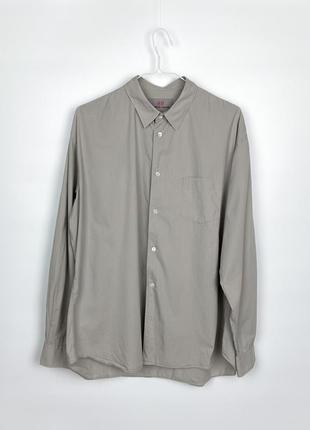 Рубашка comme des garçons x h&m shirt