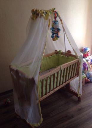 Балдахин на кроватку рiccolino