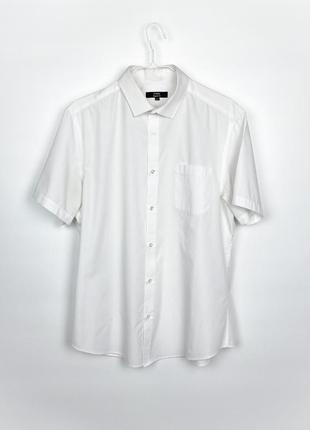 Рубашка с коротким рукавом george men's short sleeve dress shirt