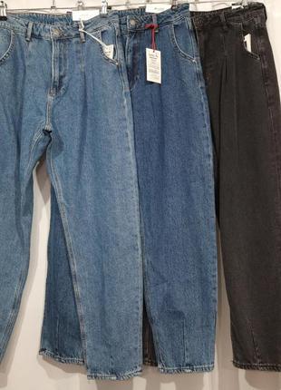 Женские джинсы баллоны/бананы в увеличенных размерах