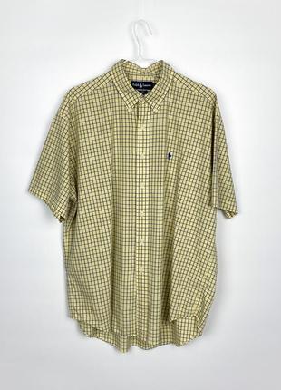 Рубашка с коротким рукавом ralph lauren checked shirt