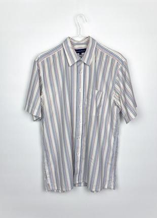 Рубашка с коротким рукавом austin reed striped shirt