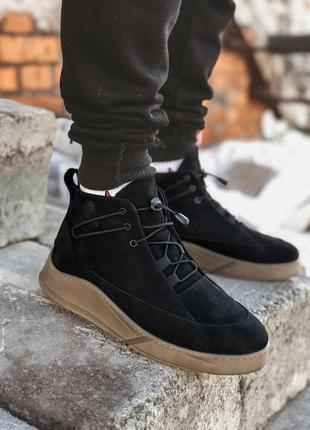 Мужские тёплые зимние ботинки