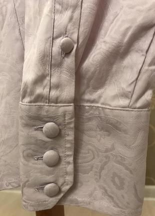 Нереально красивая и стильная брендовая рубашка в узорах..100% коттон.