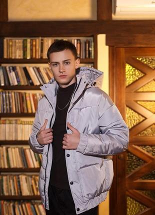 Куртка зимняя оверсайз