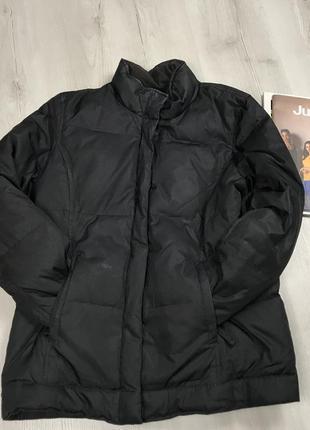 N8 пуховик gap черная куртка женская короткая зимняя ветровка