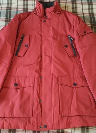 Зимняя куртка мужской пуховик geox respira