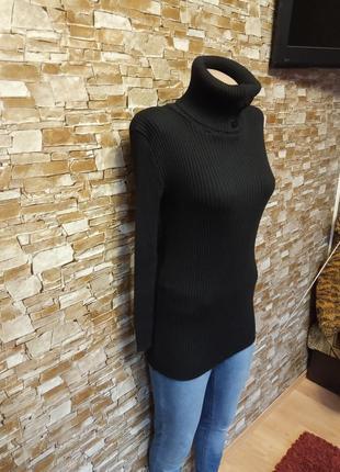 Италия,роскошный,теплый,шерстяной свитер оверсайз,свитерок,гольф,туника