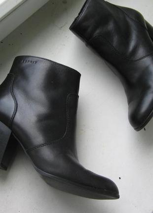 Шкіряні черевики, ботильйони від esprit