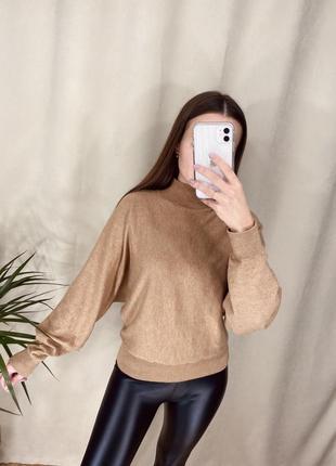 Базовый свитер от h&m и лосины утеплённые🖤2 фото