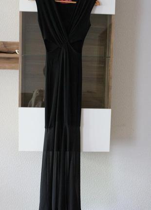 Шикарное платье в пол boohoo