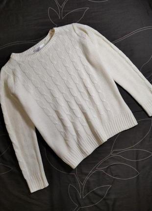 Красивый акриловый свитер пуловер джемпер bpc collection