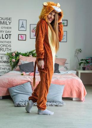 Пижама кигуруми «лев»