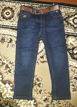 Продам джинсы на флисе, новые