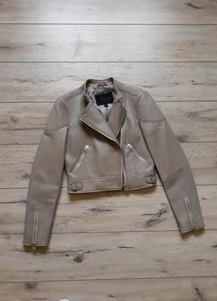Кожаная куртка coach оригинал косуха