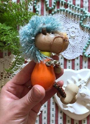 Деревянная игрушка лошадь лошадка дерево